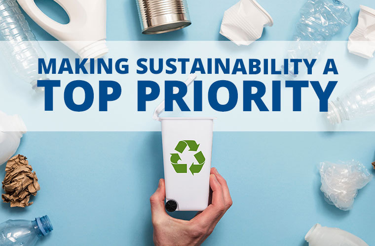 Making sustainability a top priority
